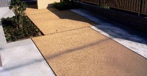 ドライテック(透水性コンクリート)のイメージ