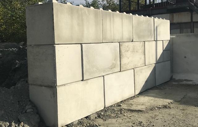 戻りコンクリートブロックのイメージ